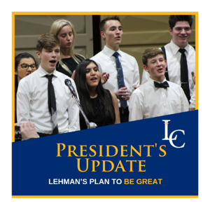 President's Update: Lehman's Plan to BE GREAT