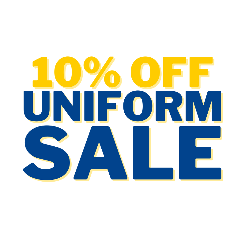 Uniform Sale on October 8