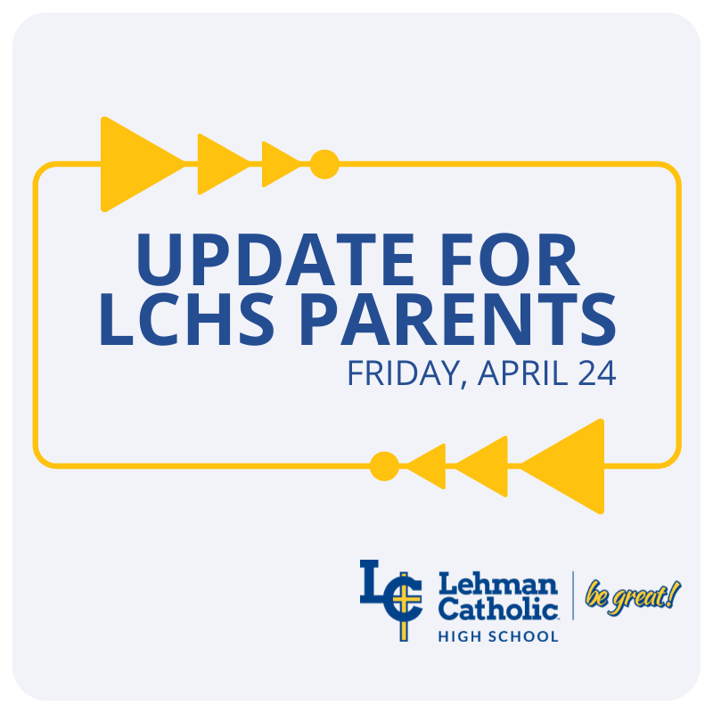 Parent Update 4-24-2020