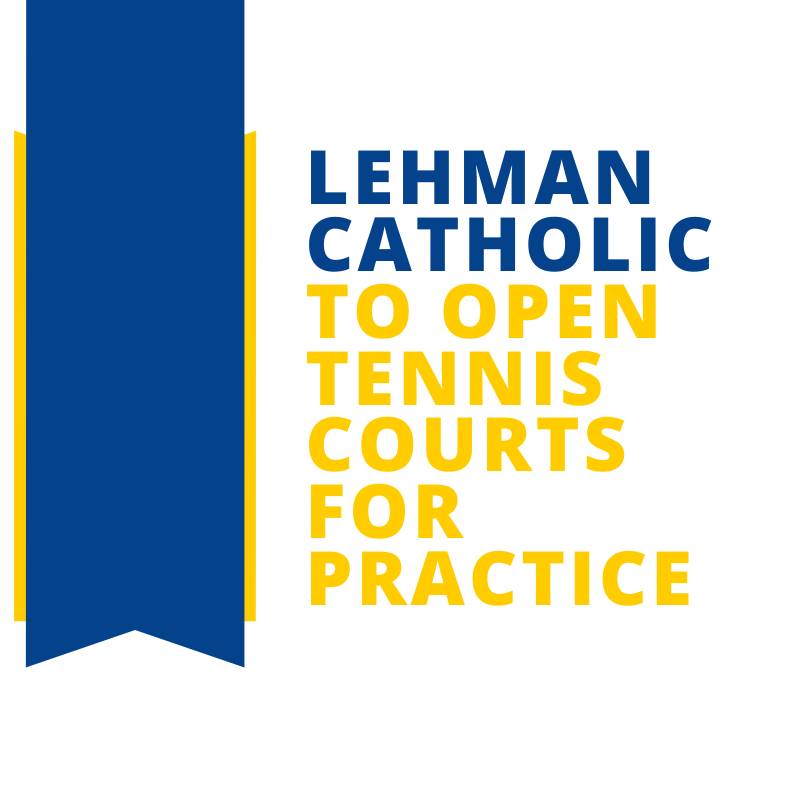 Lehman Opens Tennis Courts for Practice